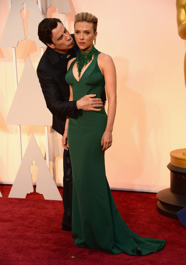 akward oscar kiss 2015
