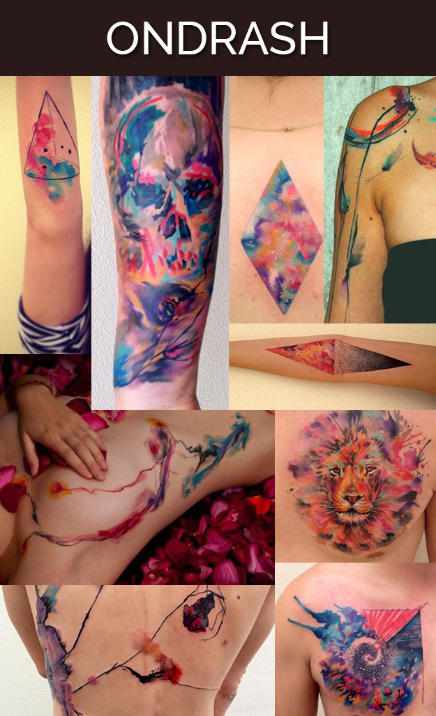 tattoo artists art work