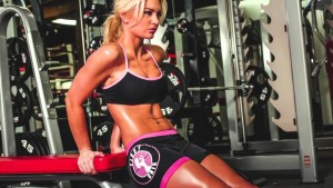 Exercise fit body girl