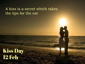 kiss dAY PIC