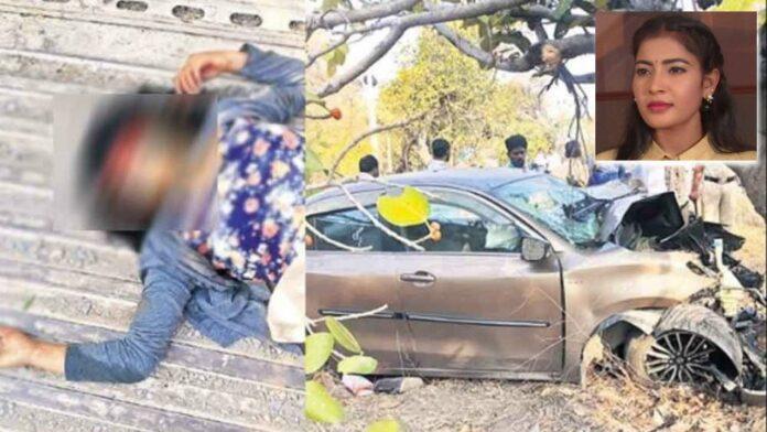 Bhargavi and Anusha Reddy killed in a car crash