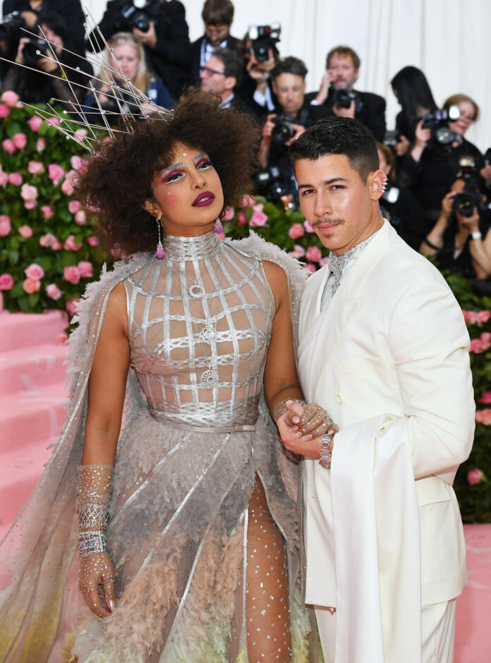 priyanka chopra and nick jonas image in Met Gala 2019