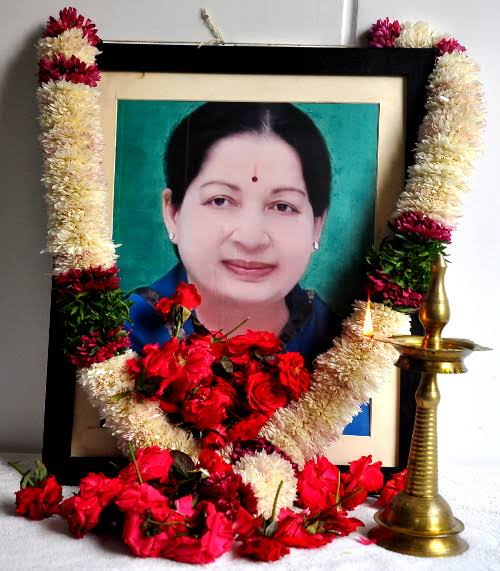 Death of Jayalalithaa