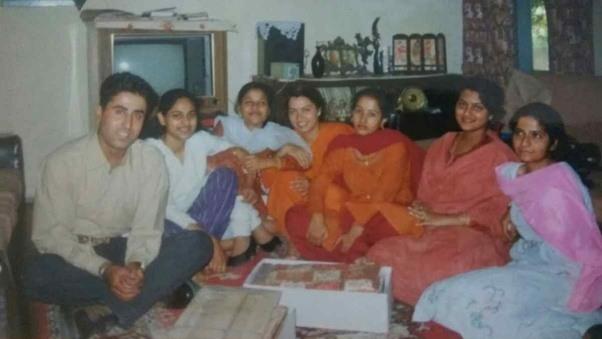 VIKRAM BATRA with family