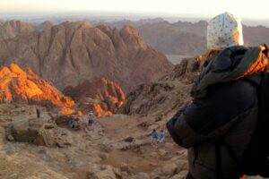 Hiking in Mt. Sinai