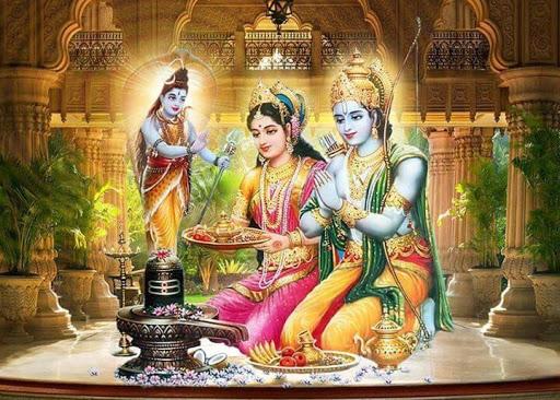 Relationship with Shriram and Shri Krishna