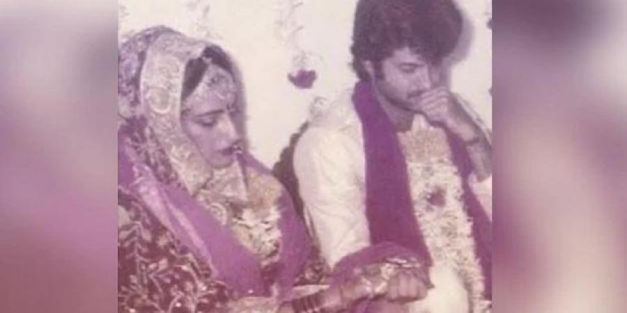 sunita kapoor young marriage pics