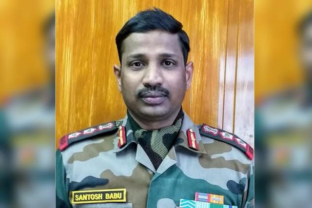 Col Santosh Kumar image died