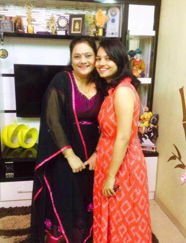 Vishal Jethwas Mother and Sister