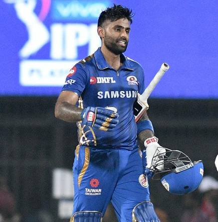 surya in field for mumbai indians