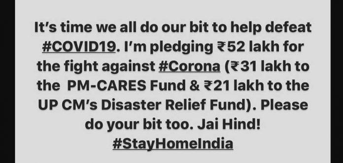 cricketer-suresh-raina-has-donated-51-lakhs-for-corona-virus-relief-fund