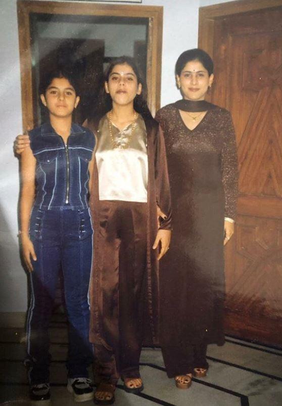 Isha Talwar in teenage