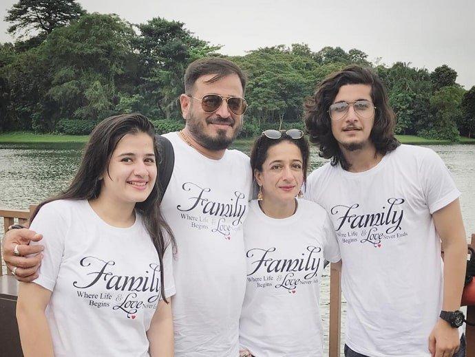 bhavin-bhanushali-family