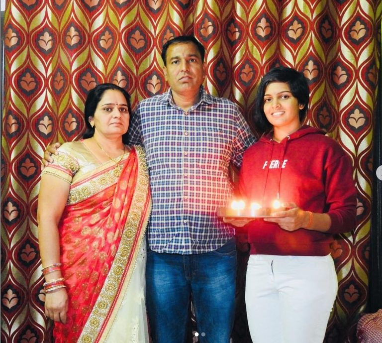 Priya Punia with family