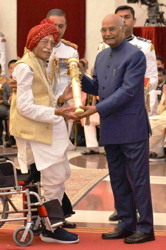 Mahashay-Dharampal-Gulati-Honoured-With-Padma-Shri-By-Ram-Nath-Kovind