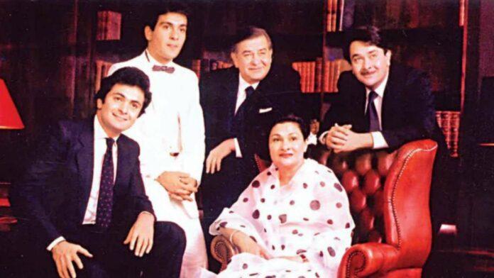 Raj Kapoor family photos