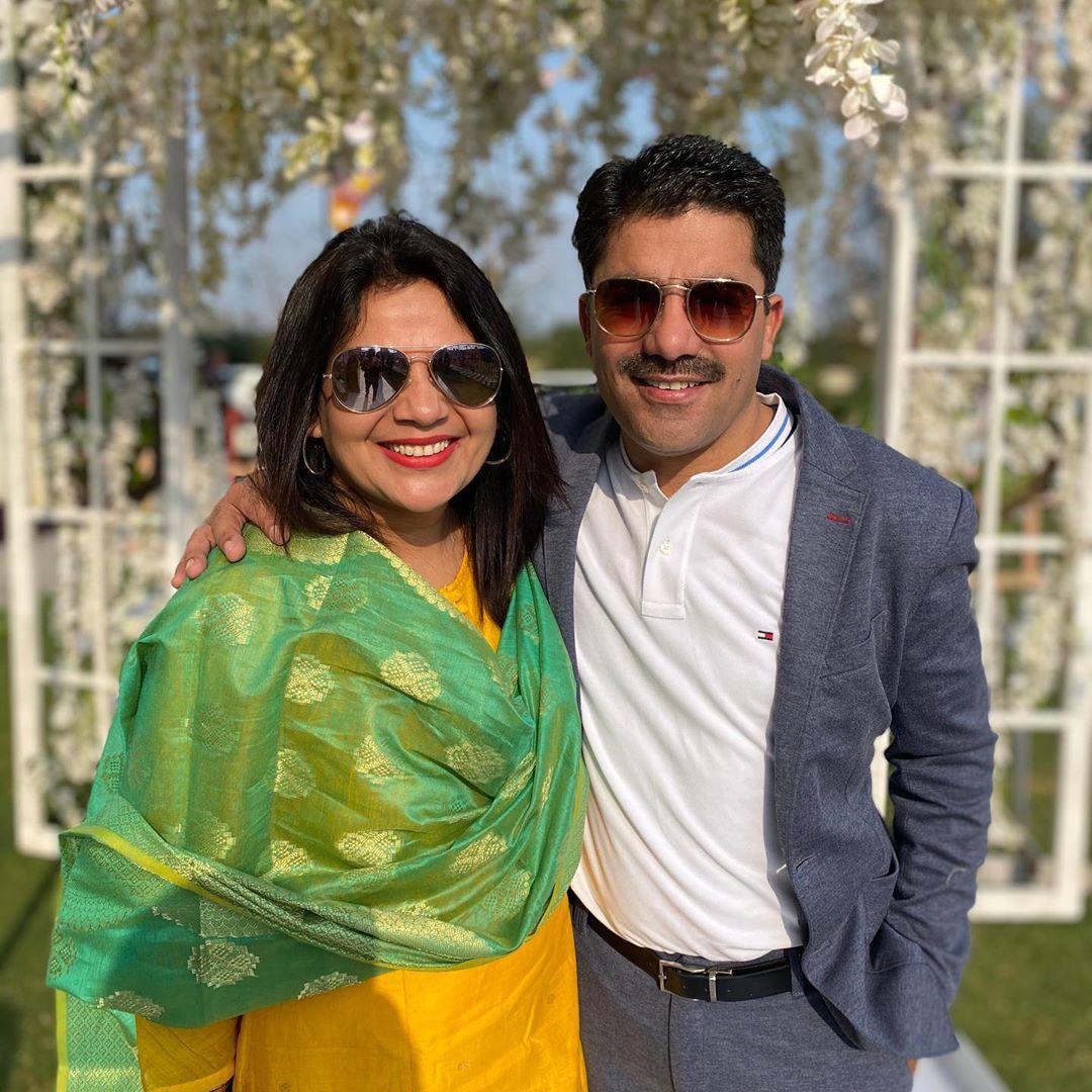 Rohit Sardana wife