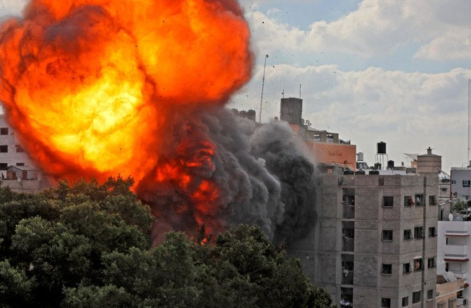 The conflict between Israel and Palestine continues unabated, where Israeli air strikes continue