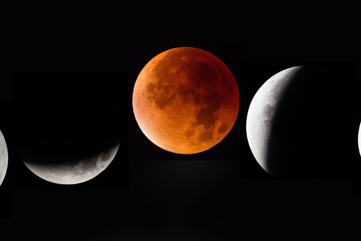 The Largest Lunar Eclipse,Chandra Grahan 2018
