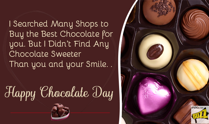 Happy Chocolate Day Date