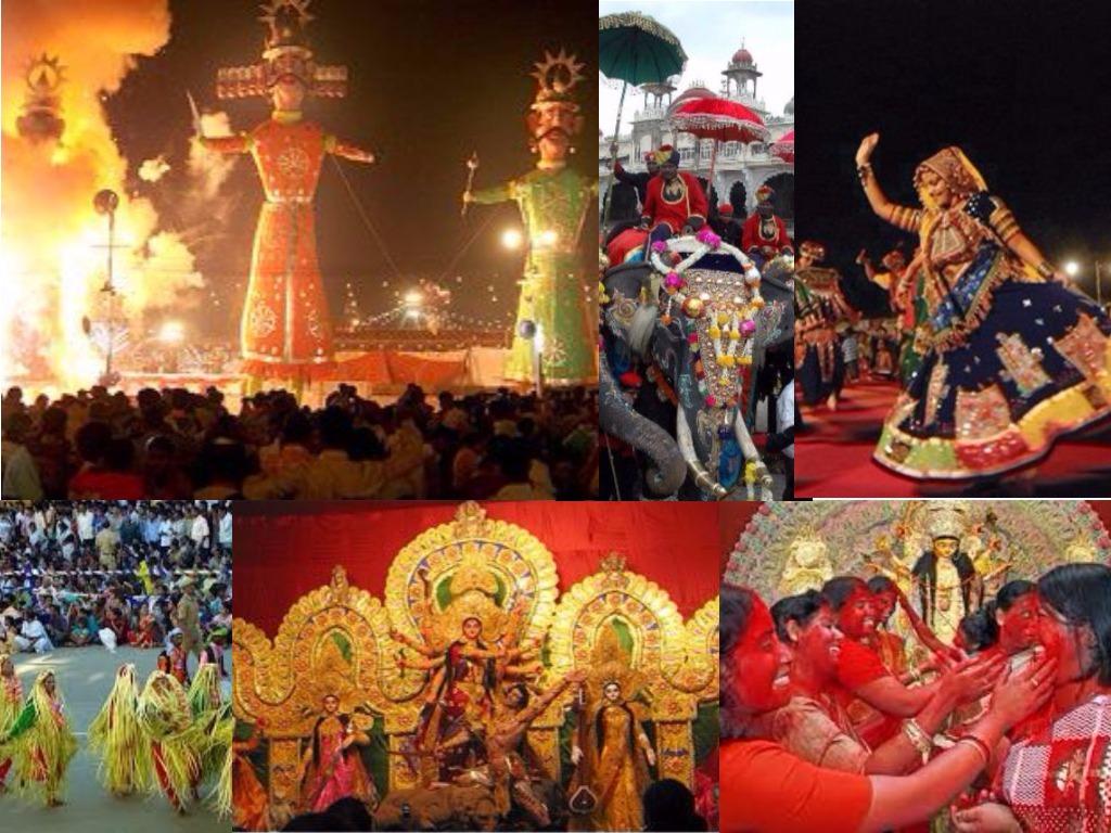 Dusshera or Dussehra celebrations