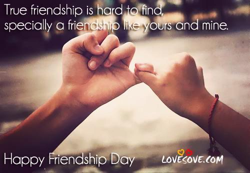 Friendship Day 2018